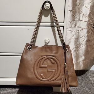 Gucci Medium Soho Disco Chain Tote